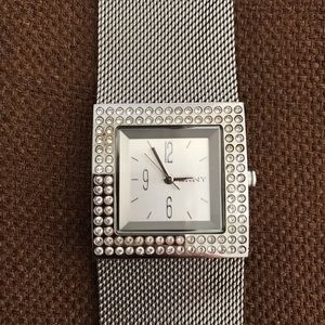 """DKNY"" Stainless Steel Silver Watch!"